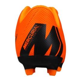 Buty piłkarskie Nike Mercurial Vapor 12 Academy Ps Mg Jr AH7349-810 pomarańczowe pomarańczowe 2