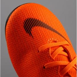 Buty piłkarskie Nike Mercurial Vapor 12 Academy Ps Mg Jr AH7349-810 pomarańczowe pomarańczowe 3