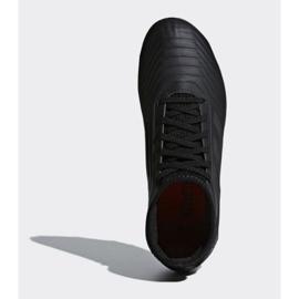 Buty piłkarskie adidas Predator 18.3 Fg Jr CP9055 czarne czarne 2