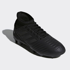 Buty piłkarskie adidas Predator 18.3 Fg Jr CP9055 czarne czarne 3