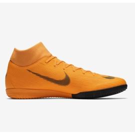 Buty halowe Nike Merurial Superflyx 6 Academy Ic M AH7369-810 pomarańczowy pomarańczowe 1