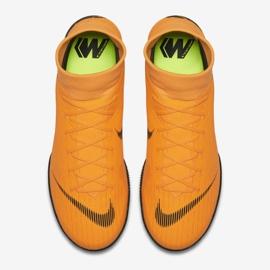 Buty halowe Nike Merurial Superflyx 6 Academy Ic M AH7369-810 pomarańczowy pomarańczowe 2