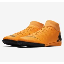 Buty halowe Nike Merurial Superflyx 6 Academy Ic M AH7369-810 pomarańczowy pomarańczowe 3