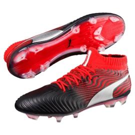 Buty piłkarskie Puma One 18.1 Syn Fg M 104869 01 czarne wielokolorowe 1