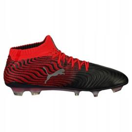 Buty piłkarskie Puma One 18.1 Syn Fg M 104869 01 czarne wielokolorowe 3