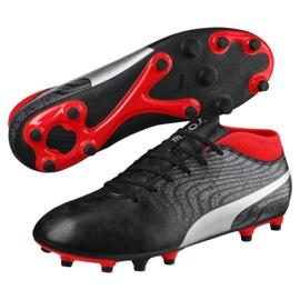 Buty piłkarskie Puma One 18.4 Fg M 104556 01 czarne czarne 1