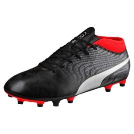 Buty piłkarskie Puma One 18.4 Fg M 104556 01 czarne czarne 3