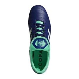 Buty piłkarskie adidas Copa 18.3 Fg M CP8959 granatowe niebieski, zielony 1