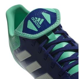 Buty piłkarskie adidas Copa 18.3 Fg M CP8959 granatowe niebieski, zielony 2
