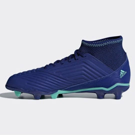 Buty piłkarskie adidas Predator 18.3 Fg Junior CP9012 niebieskie niebieskie 1