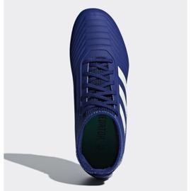 Buty piłkarskie adidas Predator 18.3 Fg Junior CP9012 niebieskie niebieskie 2
