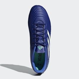 Buty piłkarskie adidas Predator 18.4 FxG M CP9267 niebieskie wielokolorowe 2