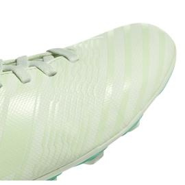 Buty piłkarskie adidas Nemeziz 17.4 FxG Jr CP9208 zielone wielokolorowe 2