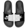 Czarne Klapki Nike Benassi Jdi M 343880-015 zdjęcie 3