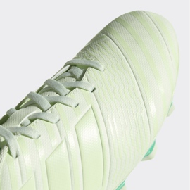 Buty piłkarskie adidas Nemeziz 17.4 FxG M CP9008 białe białe 2