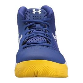 Buty koszykarskie Under Armour Jet Mid M 3020224-500 niebieskie niebieskie 1