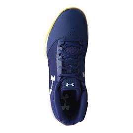 Buty koszykarskie Under Armour Jet Mid M 3020224-500 niebieskie niebieskie 3