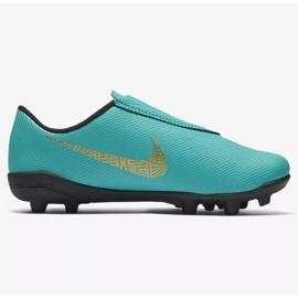 Buty piłkarskie Nike Mercurial Vapor 12 Club Ps V CR7 Mg Jr AJ3096-390 niebieskie niebieskie 1