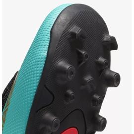 Buty piłkarskie Nike Mercurial Vapor 12 Club Ps V CR7 Mg Jr AJ3096-390 niebieskie niebieskie 3