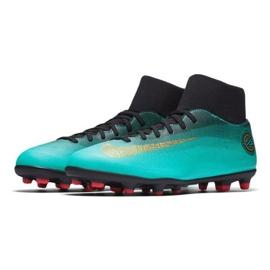 Buty piłkarskie Nike Mercurial Superfly 6 Club CR7 Mg AJ3545-390 niebieskie wielokolorowe 2