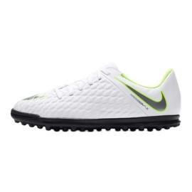 Buty piłkarskie Nike Hypervenom Phantomx 3 Club Tf Jr AJ3790-107 białe wielokolorowe 1