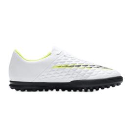 Buty piłkarskie Nike Hypervenom Phantomx 3 Club Tf Jr AJ3790-107 białe wielokolorowe 4
