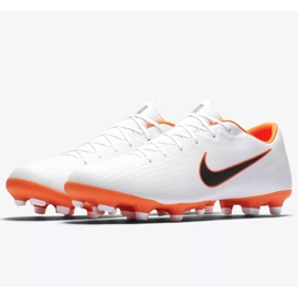 Buty piłkarskie Nike Mercurial Vapor 12 Academy Fg M AH7375-107 wielokolorowe białe 4