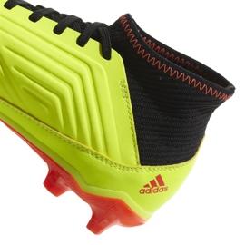 Buty piłkarskie adidas Preadtor 18.3 Fg Jr DB2319 wielokolorowe żółte 2