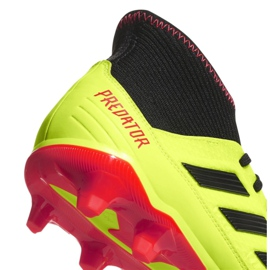 Buty piłkarskie adidas Predator 18.3 Fg M DB2003 żółte żółte 2