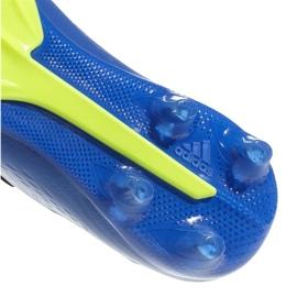 Buty piłkarskie adidas X 18.2 Fg M DA9334 granatowe niebieskie 2