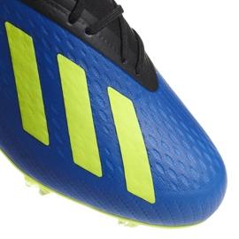 Buty piłkarskie adidas X 18.2 Fg M DA9334 granatowe niebieskie 3