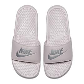 Klapki Nike Benassi Just Do It W 343881-614 szare 1
