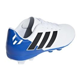 Buty piłkarskie adidas Nemeziz Messi 18.4 Fg Jr DB2369 białe wielokolorowe 2