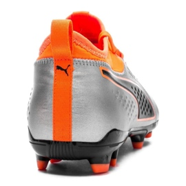 Buty piłkarskie Puma One 3 Lth Fg M 104743 01 wielokolorowe wielokolorowe 3
