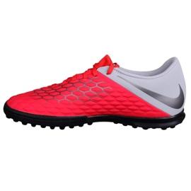 Buty piłkarskie Nike Hypervenom 3 Club Tf AJ3811-600 czerwone czerwone 1