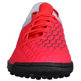 Buty piłkarskie Nike Hypervenom 3 Club Tf AJ3811-600 czerwone czerwone 2