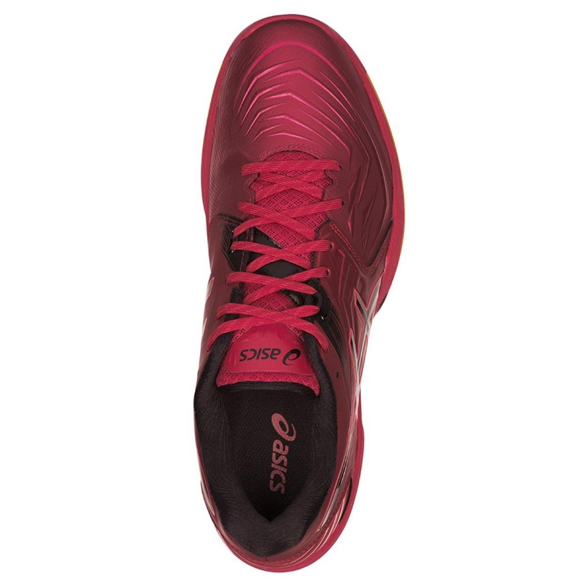 Buty do piłki ręcznej Asics Blast Ff M 1071A002 601 czerwone czarny