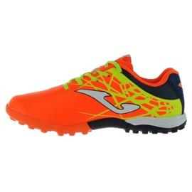 Buty piłkarskie Joma Champion Tf Jr CHAJW.808.TF pomarańczowe pomarańczowy 1