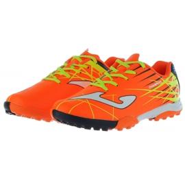 Buty piłkarskie Joma Champion Tf Jr CHAJW.808.TF pomarańczowe pomarańczowy 2