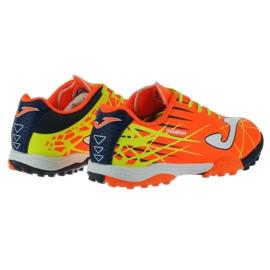 Buty piłkarskie Joma Champion Tf Jr CHAJW.808.TF pomarańczowe pomarańczowy 3