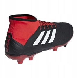 Buty piłkarskie adidas Predator 18.2 Fg M DB1999 czarne wielokolorowe 1