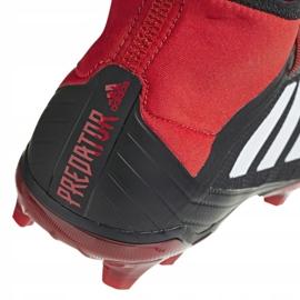 Buty piłkarskie adidas Predator 18.2 Fg M DB1999 czarne wielokolorowe 3