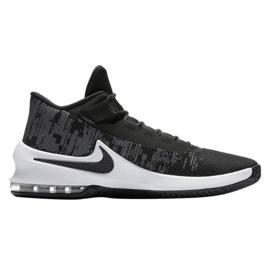 Buty koszykarskie Nike Air Max Infuriate 2 Mid M AA7066-001 czarne czarne 1