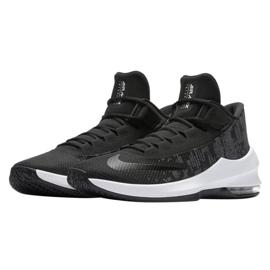 Buty koszykarskie Nike Air Max Infuriate 2 Mid M AA7066-001 czarne czarne 2