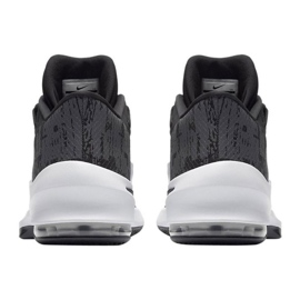 Buty koszykarskie Nike Air Max Infuriate 2 Mid M AA7066-001 czarne czarne 3