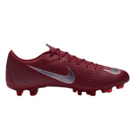 Buty piłkarskie Nike Mercurial Vapor 12 Academy Fg M AH7375-606 czerwone czerwone 7