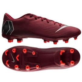 Buty piłkarskie Nike Mercurial Vapor 12 Academy Fg M AH7375-606 czerwone czerwone 9