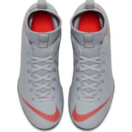 Buty piłkarskie Nike Mercurial Superfly 6 Club Mg Jr AH7339 060 biały białe białe 1