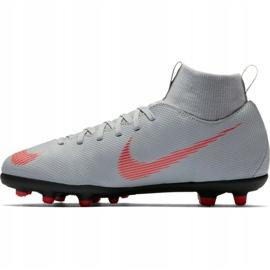 Buty piłkarskie Nike Mercurial Superfly 6 Club Mg Jr AH7339 060 biały białe białe 2