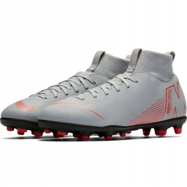 Buty piłkarskie Nike Mercurial Superfly 6 Club Mg Jr AH7339 060 biały białe białe 3